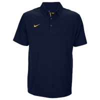 Nike Team Sideline Dry Elite Polo - Men's - Navy / Gold