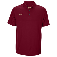Nike Team Sideline Dry Elite Polo - Men's - Maroon / Gold