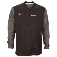 Nike Team Sideline Coach 1/2 Zip Top - Men's - Black / White
