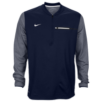 Nike Team Sideline Coach 1/2 Zip Top - Men's - Navy / White