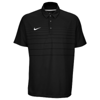 Nike Team Early Season Polo - Men's - All Black / Black
