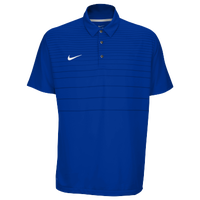 Nike Team Early Season Polo - Men's - Blue / Blue