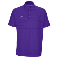 Nike Team Early Season Polo - Men's - Purple / Purple