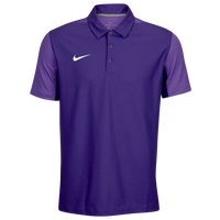 Nike Team Sideline Polo - Men's - Purple / Purple