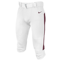 Nike Team Vapor Pro Pants - Men's - White / Maroon