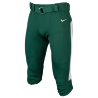 Nike Team Vapor Pro Pants - Men's - Dark Green / White
