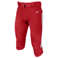 Nike Team Vapor Pro Pants - Men's - Red / White