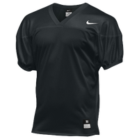 Nike Team Core Practice Jersey - Men's - All Black / Black