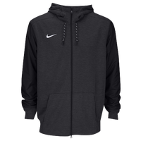 Nike Team Sideline Full-Zip Travel Hoodie - Men's - All Black / Black