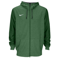 Nike Team Sideline Full-Zip Travel Hoodie - Men's - Green / Green