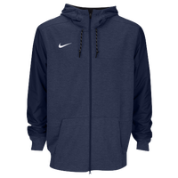 Nike Team Sideline Full-Zip Travel Hoodie - Men's - Navy / Navy