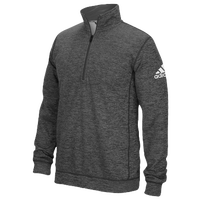 adidas Team Issue 1/4 Zip - Men's - Grey / Grey