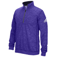 adidas Team Issue 1/4 Zip - Men's - Purple / Grey