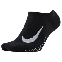Nike Dri-FIT Elite Cushion No Show Tab - Black / White