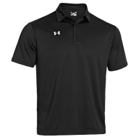 Under Armour Team Rival Polo - Men's - All Black / Black