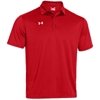 Under Armour Team Rival Polo - Men's - Red / Red
