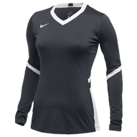Nike Team Hyperace Long Sleeve Game Jersey - Women's - Grey / White