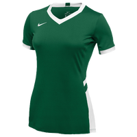Nike Team Hyperace Short Sleeve Game Jersey - Women's - Dark Green / White