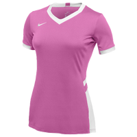 Nike Team Hyperace Short Sleeve Game Jersey - Women's - Pink / White