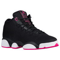 Jordan Horizon LS - Girls' Grade School - Black / Pink