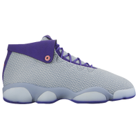 Jordan Horizon LS - Girls' Grade School - Grey / Purple