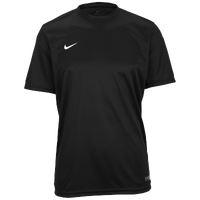 Nike Team Tiempo II Jersey - Boys' Grade School - All Black / Black