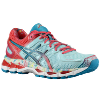 ASICS� Gel - Kayano 21 - Women's - Light Blue / Red