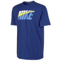 Nike Futura Vintage S/S T-Shirt - Men's - Blue / Light Blue