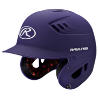 Rawlings Coolflo R16 Junior Batting Helmet - Men's - Purple / White