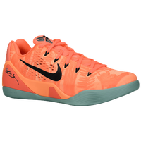 Nike Kobe IX EM - Men's - Kobe Bryant - Orange / Black