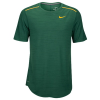 Nike Team Elite Coaches Half Zip Top - Men's - Dark Green / Yellow