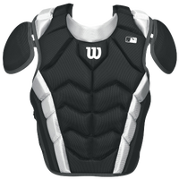 Wilson Pro Stock Chest Protector - Adult - Black / White