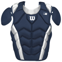Wilson Pro Stock Chest Protector - Adult - Navy / White