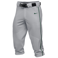 Nike Team Vapor Pro Piped High Pants - Men's - Grey / Dark Green