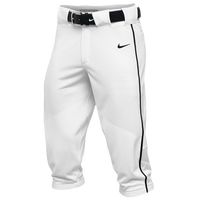 Nike Team Vapor Pro Piped High Pants - Men's - White / Black