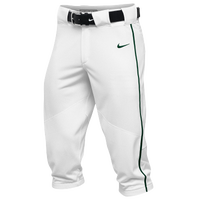 Nike Team Vapor Pro Piped High Pants - Men's - White / Dark Green