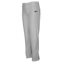 Nike Team Vapor Pro Pants - Boys' Grade School - Grey / Grey