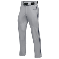 Nike Team Vapor Pro Pant Piped - Boys' Grade School - Grey / Navy