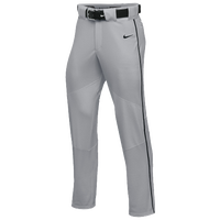 Nike Team Vapor Pro Pant Piped - Boys' Grade School - Grey / Black