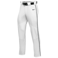 Nike Team Vapor Pro Pant Piped - Boys' Grade School - White / Black