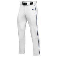 Nike Team Vapor Pro Pant Piped - Boys' Grade School - White / Blue