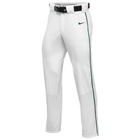 Nike Team Vapor Pro Pant Piped - Boys' Grade School - White / Dark Green