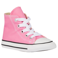 Converse All Star Hi - Girls' Toddler - Pink / White