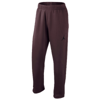 Jordan 23/7 Fleece Pants - Men's - Maroon / Black