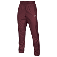 Nike Team FB Woven Pants - Men's - Maroon / Maroon