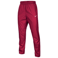 Nike Team FB Woven Pants - Men's - Red / Red