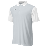 Nike Team Preseason Polo - Men's - White / Grey