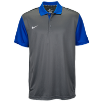 Nike Team Preseason Polo - Men's - Blue / Grey