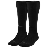 Nike 2 Pack Baseball Socks - Men's - All Black / Black