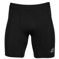adidas Techfit Dig Compression Shorts - Men's - All Black / Black